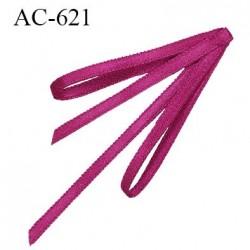 Noeud 31 mm lingerie couleur fushia haut de gamme largeur 31 mm hauteur 73 mm haut de gamme
