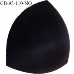 Coque triangle taille bonnet 95/110 couleur noir haut de gamme prix à la pièce