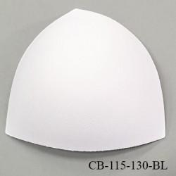 Coque triangle taille bonnet 115/130 couleur blanc haut de gamme prix à la pièce