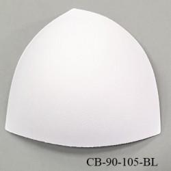 Coque triangle taille bonnet 90/105 couleur blanc haut de gamme prix à la pièce