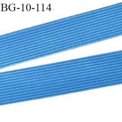 Droit fil a plat 10 mm spécial lingerie couleur bleu royal grande marque fabriqué en France agréable au touché prix au mètre