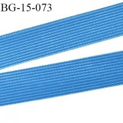 Droit fil a plat 15 mm spécial lingerie couleur bleu royal grande marque fabriqué en France agréable au touché prix au mètre
