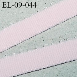 Elastique 9 mm picot lingerie haut de gamme couleur rose babydoll Fabrication en France largeur 9 mm prix au mètre