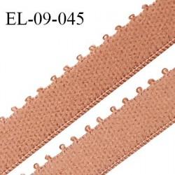 Elastique 9 mm bretelle et lingerie couleur peau largeur 9 mm haut de gamme Fabriqué en France prix au mètre