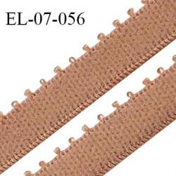 Elastique 7 mm bretelle et lingerie couleur peau largeur 7 mm haut de gamme Fabriqué en France prix au mètre