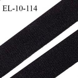 Elastique 10 mm lingerie et bretelle haut de gamme fabriqué en France forte élasticité couleur noir largeur 10 mm prix au mètre
