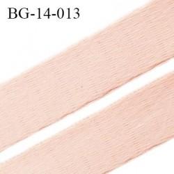 Devant bretelle 14 mm en polyamide attache bretelle rigide pour anneaux couleur rose haut de gamme prix au mètre