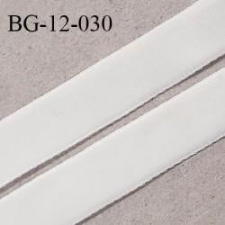 Galon ruban velours 12 mm fin très doux couleur écru largeur 12 mm prix au mètre