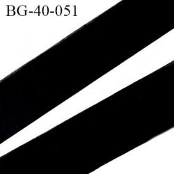 Biais à plat 40 mm à plier couleur noir composition 65% polyester et 35 % coton largeur 40 mm prix au mètre
