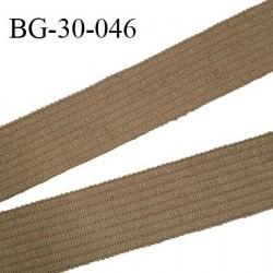 galon ganse renforcé 30 mm couleur kaki beige largeur 30 mm prix au mètre
