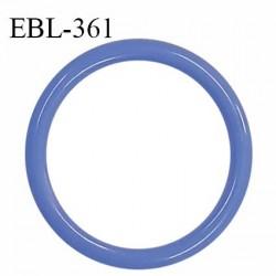 Anneau de réglage 18 mm en pvc couleur myosotis diamètre intérieur 18 mm diamètre extérieur 22 mm épaisseur 2 mm prix à l'unité