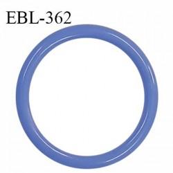 Anneau de réglage 16 mm en pvc couleur myosotis diamètre intérieur 16 mm diamètre extérieur 20 mm épaisseur 2 mm prix à l'unité