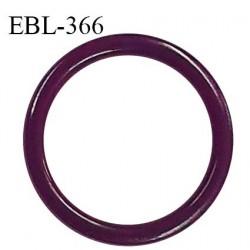Anneau de réglage 16 mm en pvc couleur violet diamètre intérieur 16 mm diamètre extérieur 20 mm épaisseur 2 mm prix à l'unité