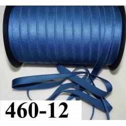 élastique plat largeur 12 mm couleur bleu lumineux vendu au mètre