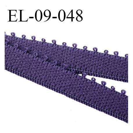 élastique 9 mm bretelle et  lingerie couleur byzance largeur 9 mm haut de gamme prix au mètre