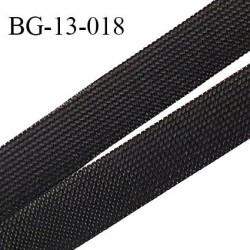 Droit fil à plat 13 mm spécial lingerie et couture couleur noir grande marque fabriqué en France prix au mètre