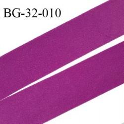 Droit fil a plat 32 mm spécial lingerie et couture couleur fuchsia duveteux grande marque fabriqué en France prix au mètre