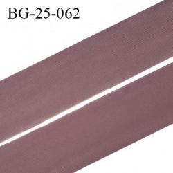 Droit fil à plat 26 mm spécial lingerie et couture couleur macchiato grande marque fabriqué en France prix au mètre