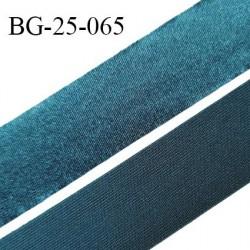 Droit fil à plat 26 mm spécial lingerie et couture couleur bleu vert effet satiné grande marque fabriqué en France prix au mètre