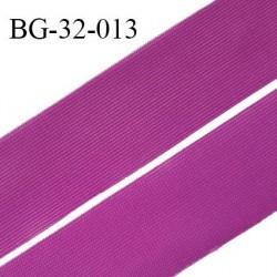 Droit fil à plat 32 mm spécial lingerie et couture couleur fuschia grande marque fabriqué en France prix au mètre