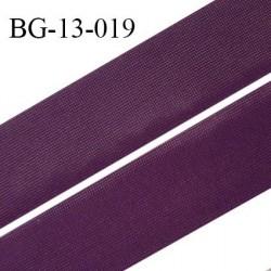 Droit fil à plat 13 mm spécial lingerie et couture couleur iris grande marque fabriqué en France largeur 13 mm prix au mètre