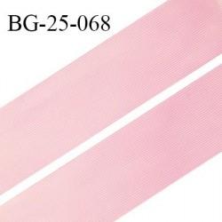 Droit fil à plat 26 mm spécial lingerie et couture du prêt à porter couleur rose grande marque fabriqué en France prix au mètre
