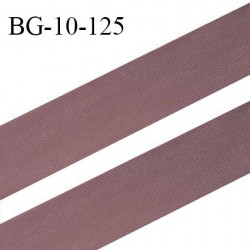 Droit fil à plat 10 mm spécial lingerie et prêt à porter couleur macchiato grande marque fabriqué en France prix au mètre