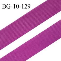Droit fil à plat 10 mm spécial lingerie et prêt à porter couleur fuschia grande marque fabriqué en France prix au mètre