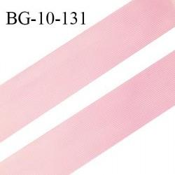 Droit fil à plat 10 mm spécial lingerie et prêt à porter couleur fraise grande marque fabriqué en France prix au mètre