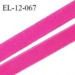 Elastique 12 mm lingerie et bretelle haut de gamme fabriqué en France couleur fuschia largeur 12 mm prix au mètre