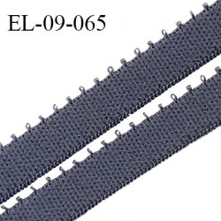 Elastique 9 mm bretelle et lingerie couleur gris cachemire largeur 9 mm haut de gamme Fabriqué en France prix au mètre