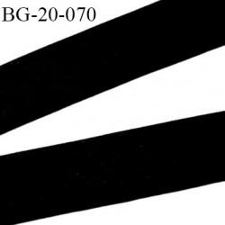 biais galon 20 mm pré plié  au dos 2 rabats de 10 mm  coton polyester couleur noir largeur 20 mm prix au mètre
