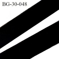 Biais à plat 30 mm à plier couleur noir composition 65% polyester et 35 % coton largeur 30 mm prix au mètre