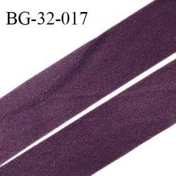 Droit fil à plat 32 mm spécial lingerie et prêt à porter couleur iris style velours ou duveteux fabriqué en France prix au mètre