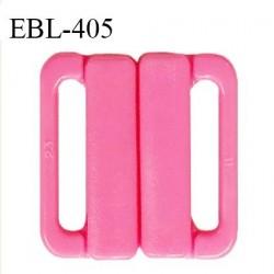 Boucle clip 30 mm attache réglette pvc spécial maillot de bain couleur rose haut de gamme prix à l'unité