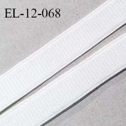 Elastique 12 mm lingerie et bretelle haut de gamme fabriqué en France bonne élasticité couleur écru largeur 12 mm prix au mètre