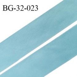 Droit fil à plat 32 mm spécial lingerie et couture du prêt à porter couleur bleu polaire grande marque fabriqué en France