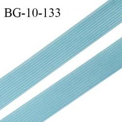 Droit fil à plat 10 mm spécial lingerie et prêt à porter couleur bleu polaire fabriqué en France prix au mètre