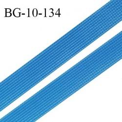 Droit fil à plat 10 mm spécial lingerie et prêt à porter couleur bleu royal fabriqué en France prix au mètre