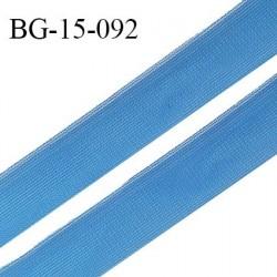 Droit fil à plat 15 mm fin spécial lingerie et prêt à porter couleur bleu royal fabriqué en France prix au mètre