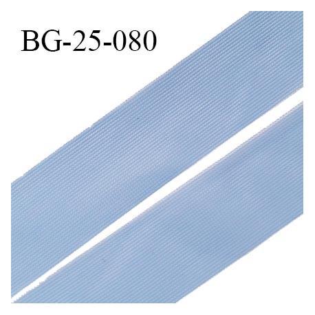 Droit fil à plat 26 mm spécial lingerie et prêt à porter couleur aigue marine grande marque fabriqué en France prix au mètre