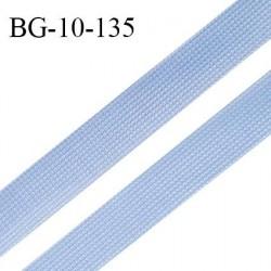 Droit fil à plat 10 mm spécial lingerie et prêt à porter couleur aigue marine grande marque fabriqué en France prix au mètre