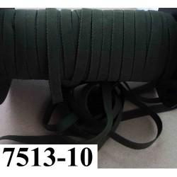 élastique plat largeur 10 mm couleur vert kaki éminence vendu au mètre