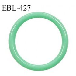 Anneau de réglage 15 mm en pvc couleur vert diamètre intérieur 15 mm diamètre extérieur 20 mm épaisseur 3 mm prix à l'unité