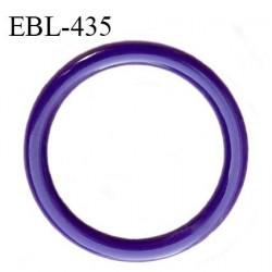 Anneau de réglage 13 mm en pvc couleur violet (iris) prix à l'unité