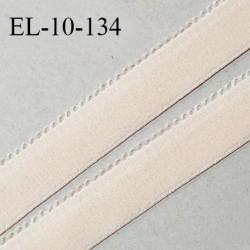 Elastique 10 mm lingerie haut de gamme couleur rose ice cream fabriqué en France largeur 10 mm + 2 mm picots prix au mètre