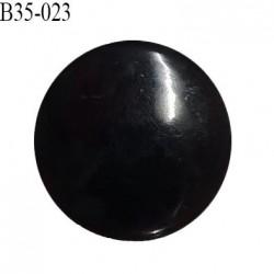 Bouton 36 mm en pvc couleur noir bouton plat diamètre 36 mm épaisseur 3 mm accroche avec un anneau prix à l'unité