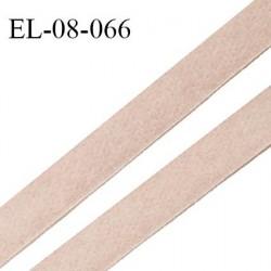 Elastique 8 mm lingerie haut de gamme couleur beige rosé doux au toucher fabriqué en France largeur 8 mm prix au mètre