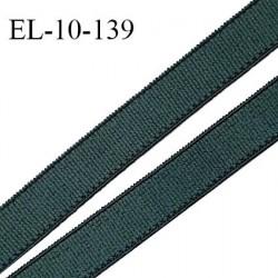Elastique 10 mm lingerie haut de gamme couleur vert story fabriqué France grande marque largeur 10 mm prix au mètre