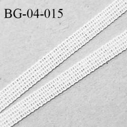 Droit fil à plat 4 mm spécial lingerie et prêt-à-porter couleur blanc grande marque fabriqué en France prix au mètre